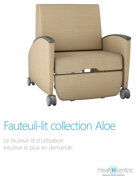 Fauteuil-lit, collection Aloe
