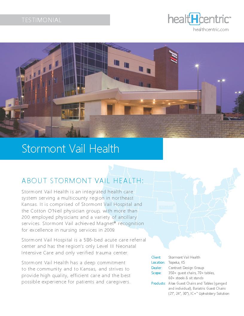 Stormont Vail Health Testimonial