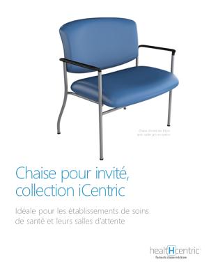 Chaise pour invité, collection iCentric