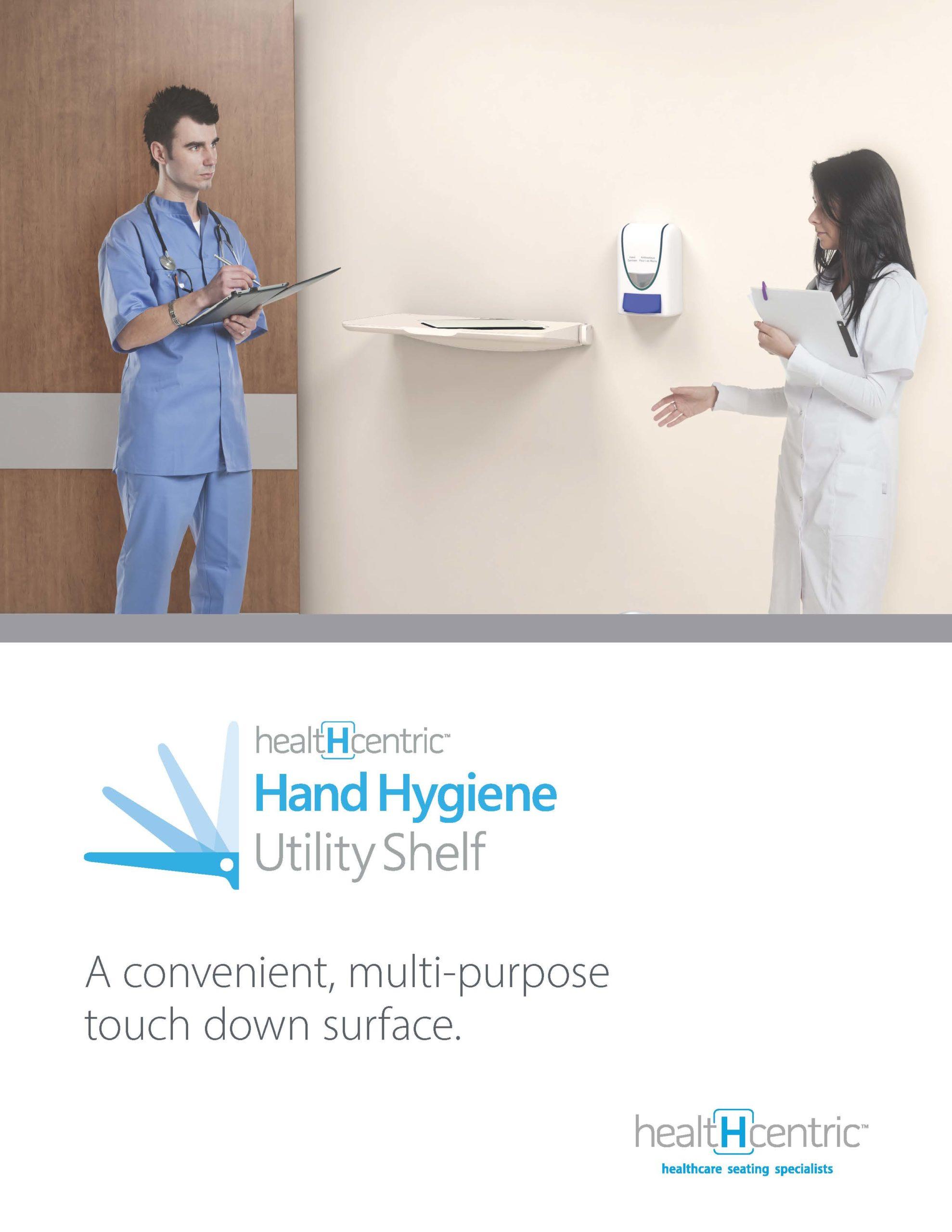 Hand Hygiene Utility Shelf